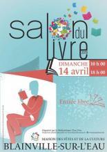 Salon du Livre de Blainville sur l'eau - 14 avril 2019
